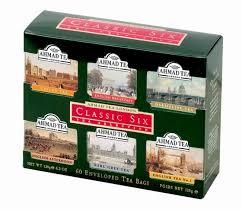 Ahmad Tea Classic Six