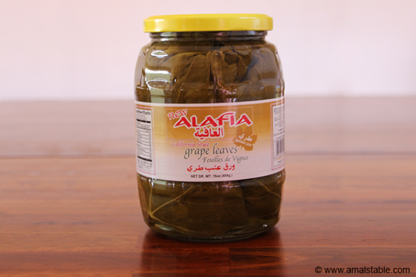 Alafia Grape Leaves