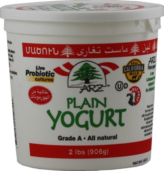 Arz Plain Yogurt