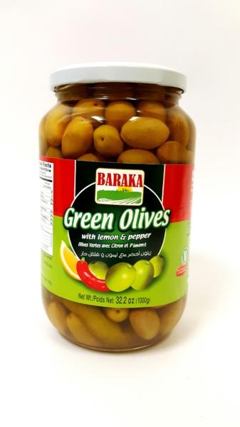 Baraka Green Olives