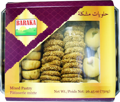 Baraka Mixed Pastry