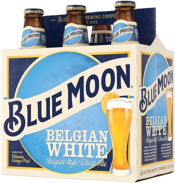 Blue Moon Belgium Beer