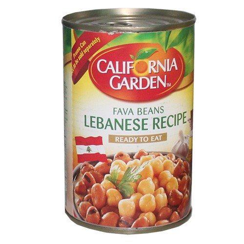 California Garden Fava Beans Lebanese Recipe