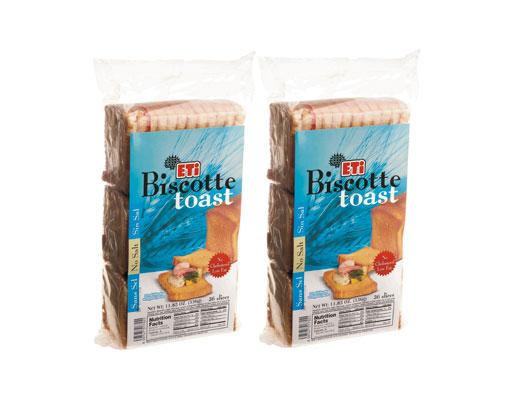 Eti Biscotte Toast Salt Free