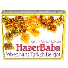 HazerBaba Turkish Delight Mixed Nuts