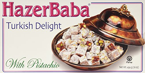 HazerBaba Turkish Delight With Pistachio