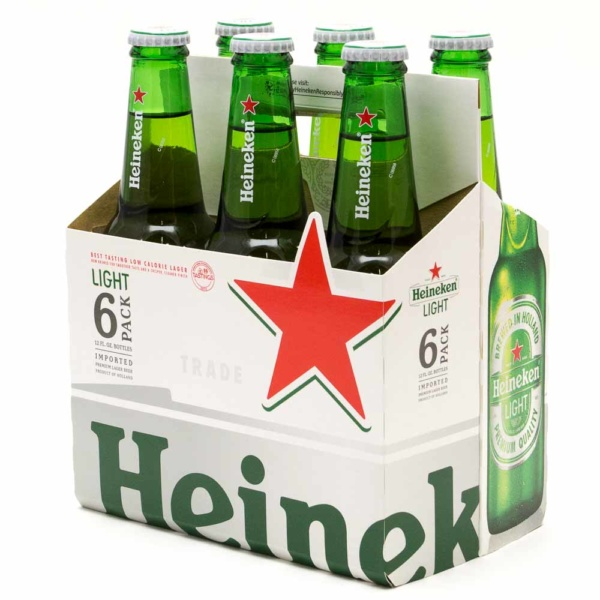 Heineken Light – 6 Pack – 72 fl oz