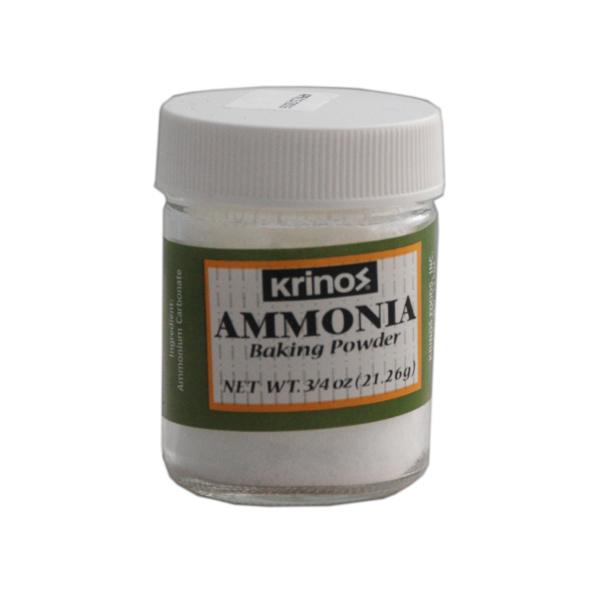 Krinos Ammonia Baking Powder