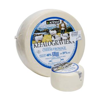 Krinos Kefalograviera Greek Cheese