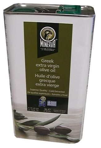 Minerva Greek Extra Virgin Olive Oil.