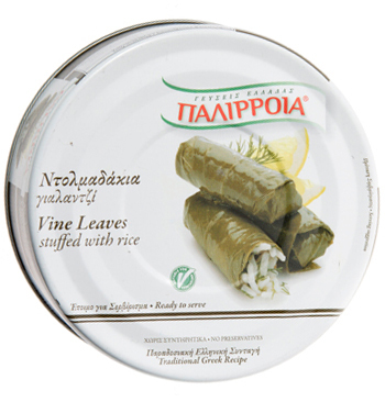 Palirria Grape Leaves with Rice