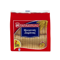 Papadopoulos Goldies Wheat Toasted Rusks