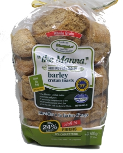 The Manna Barley Cretan Toasts