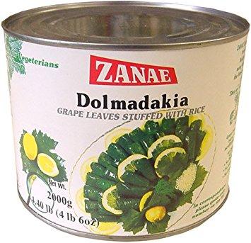 Zanae Dolmadakia Grape Leaves