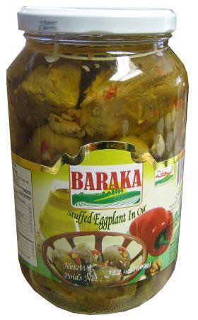 Baraka Stuffed Eggplants In Oil